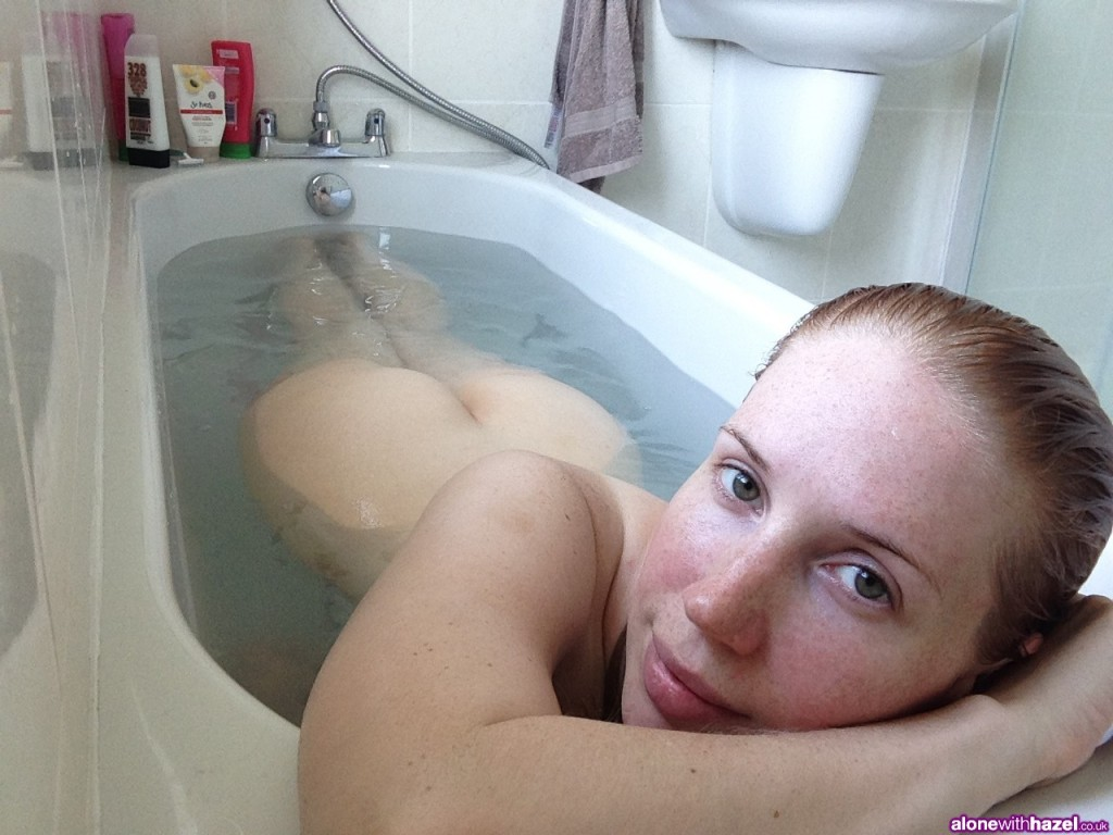 AloneWithHazel in the Bathtub