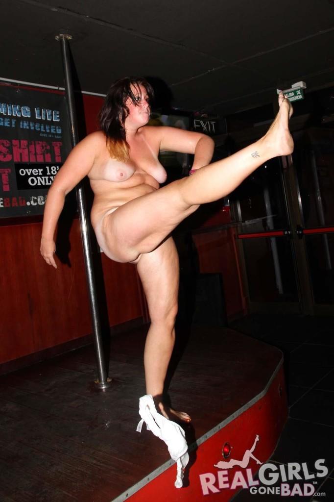 Girl strip contest