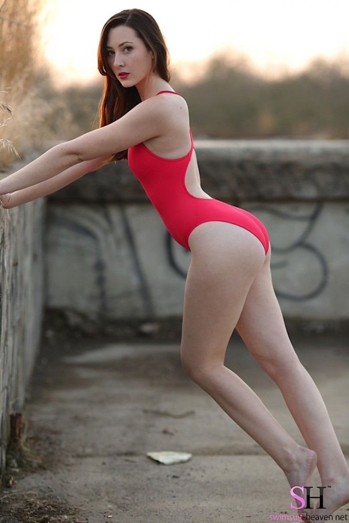 Red-Swimsuit-Girl